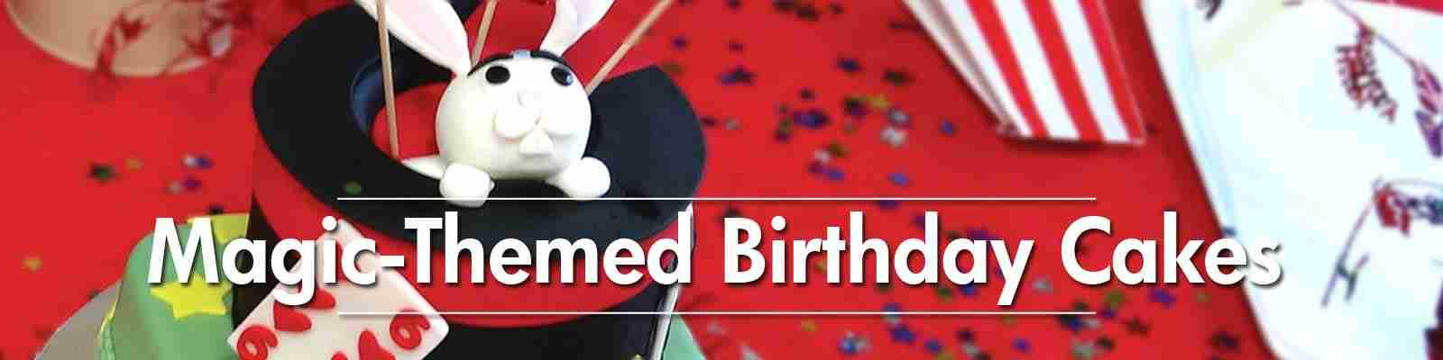 Magic Show Birthday Party Cake