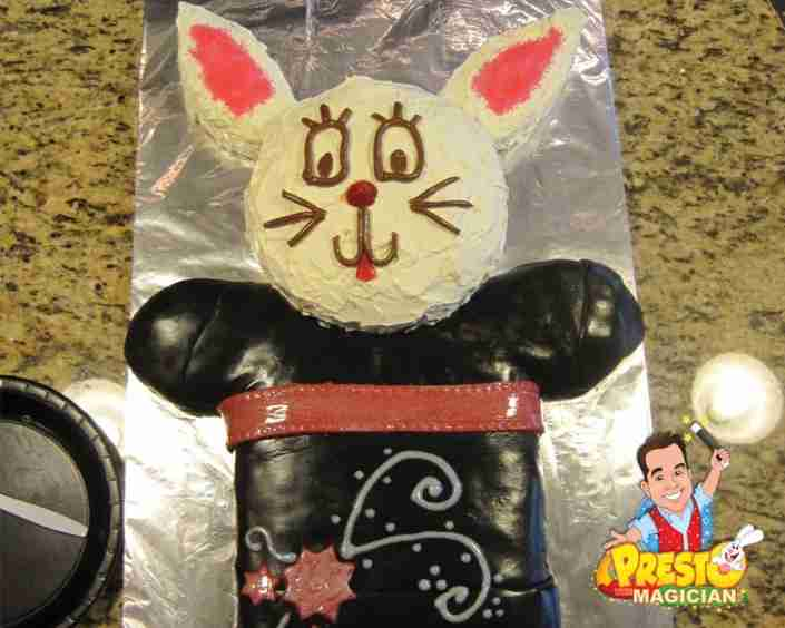 magic rabbit birthday cake