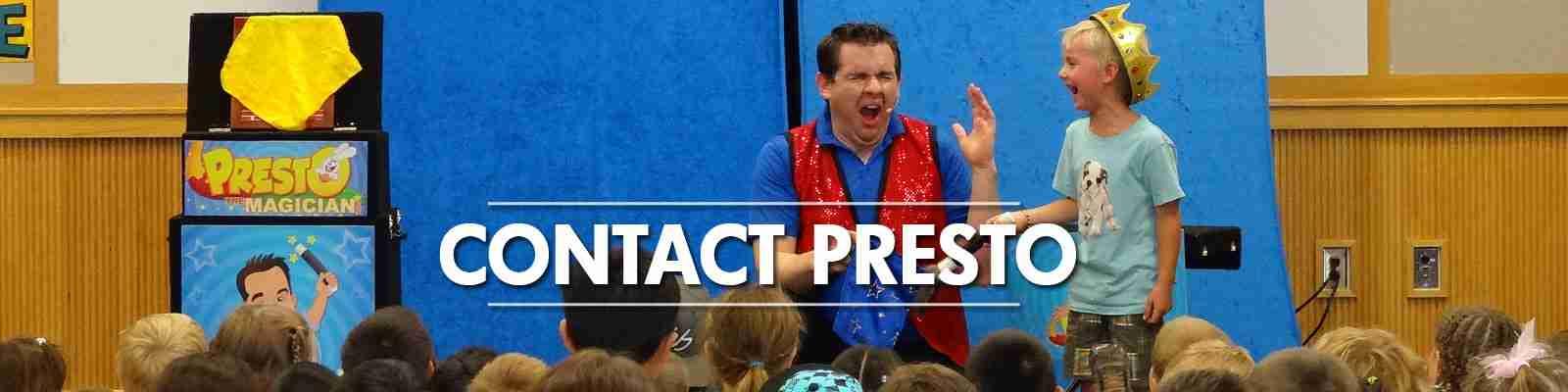 contact presto the magician