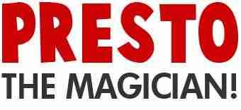 Presto the Magician!