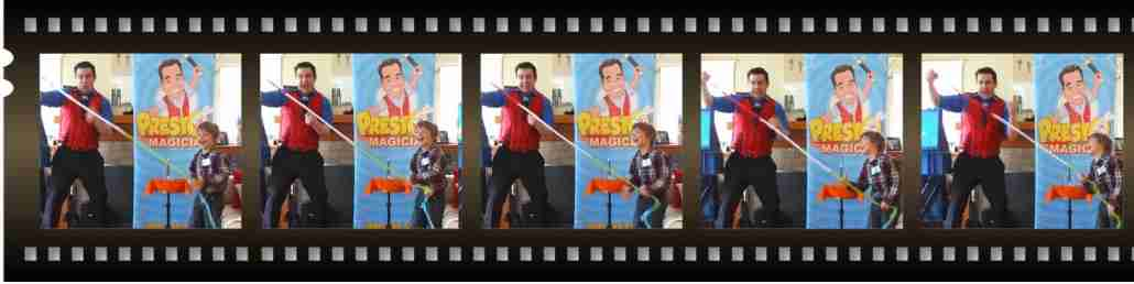 kids magic birthday party entertainer - Presto the Magician