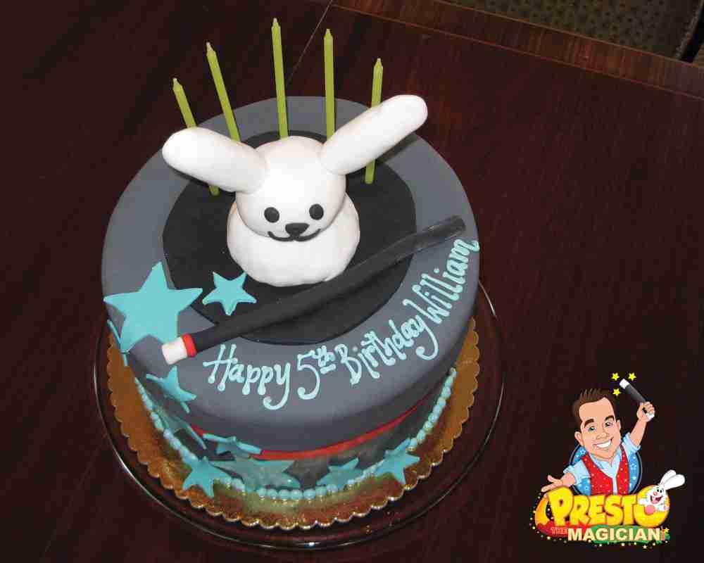 Amazing Presto The Magician Magic Birthday Cake Ideas Funny Birthday Cards Online Kookostrdamsfinfo