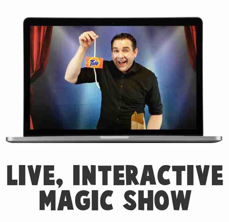 live interactive magic show