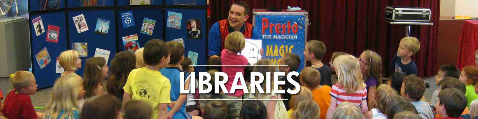 library summer reading program magic shows