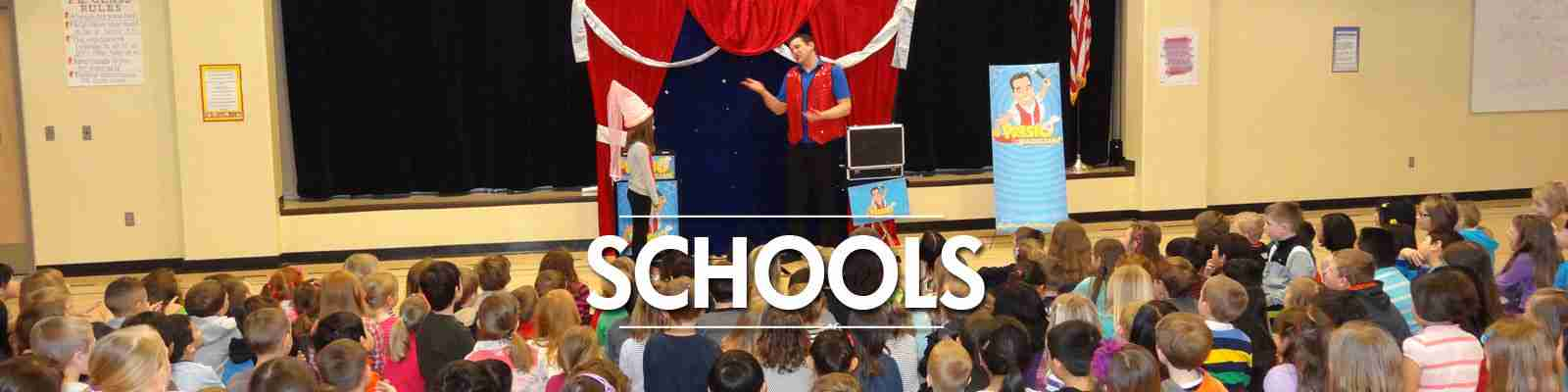 magic shows for elementary schools