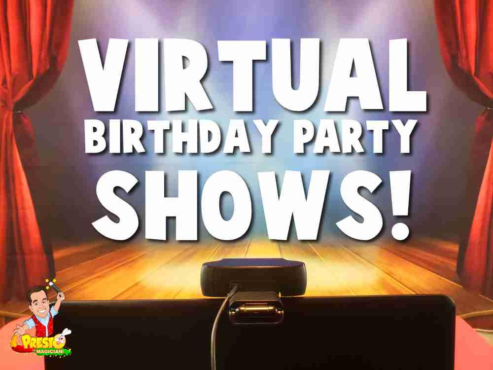 virtual birthday party magic shows